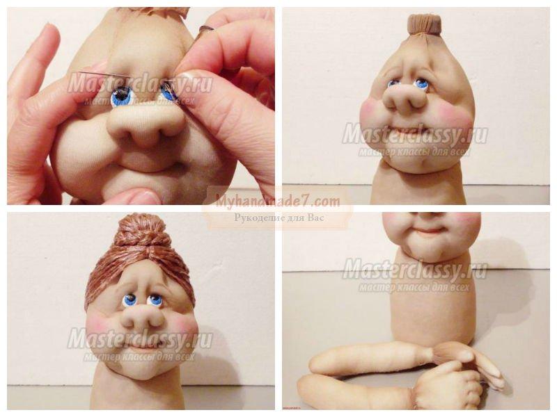 Кукла из капроновых колготок сшить своими руками