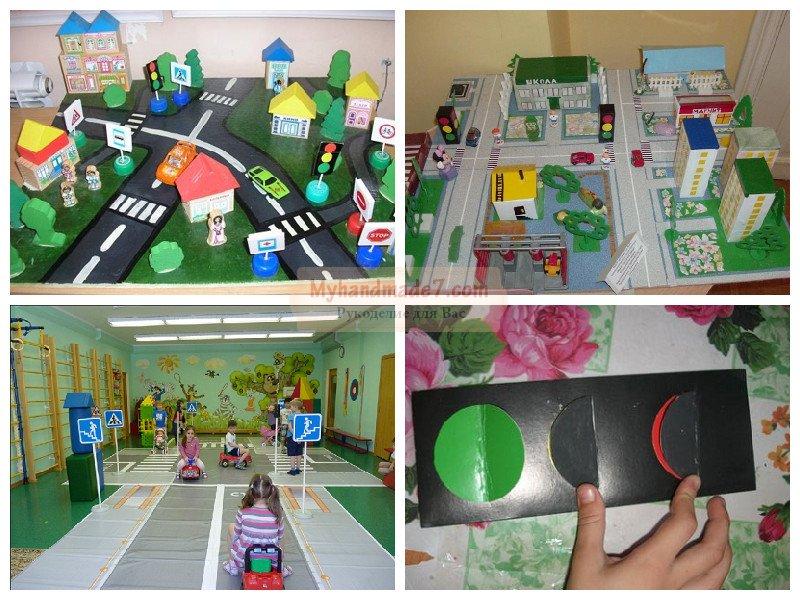 Поделки для детского сада по пдд 64