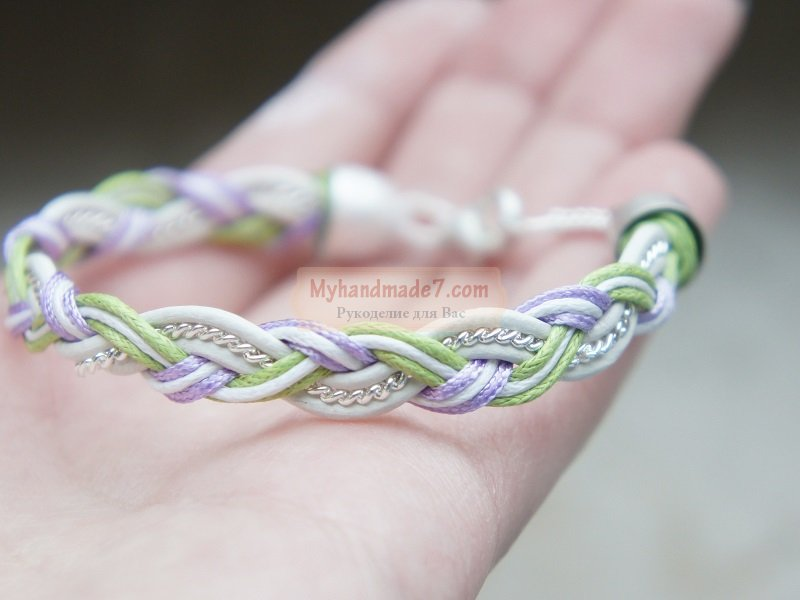 Своими руками простые браслеты