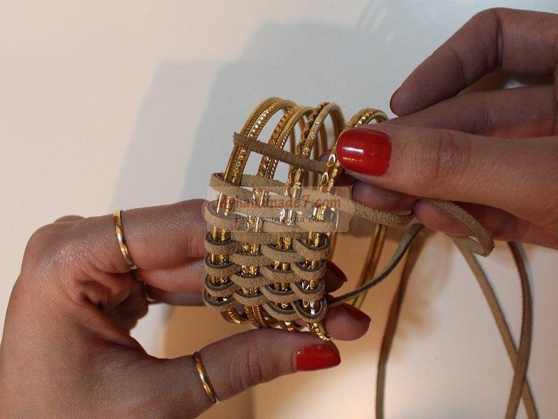 Сплести кожаный браслет