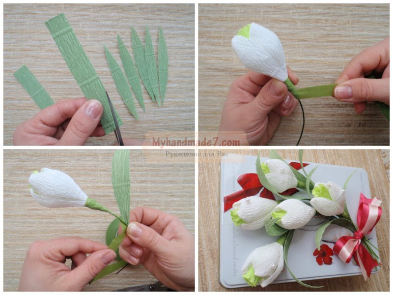 Сделать букет из конфет своими руками пошаговое фото для начинающих
