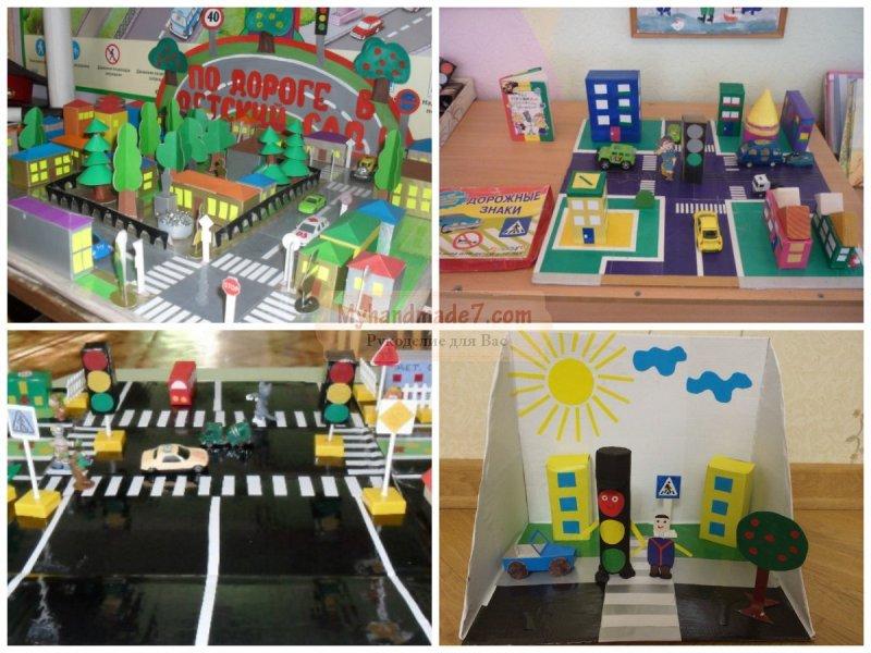 Уголок безопасности в детском саду 55